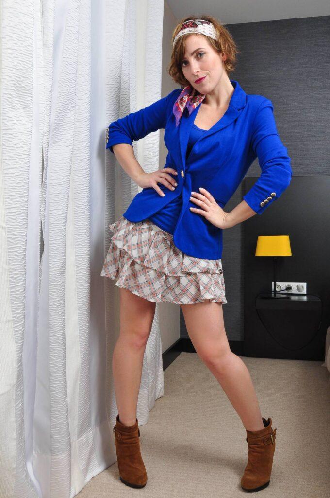 look bleu roi mi saison