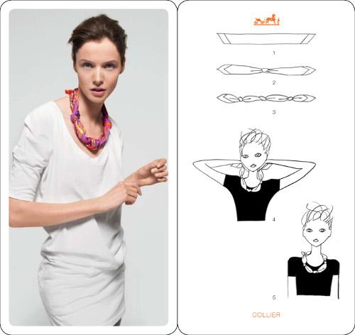 Comment Nouer Un Foulard Blog Mode Paris Soyons élégantes