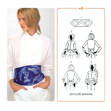comment nouer foulard 39