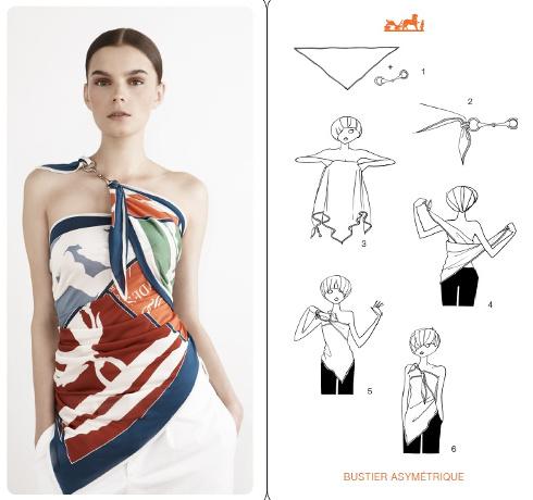 1b3c6b577d3 Comment nouer un foulard - blog mode Paris Soyons élégantes