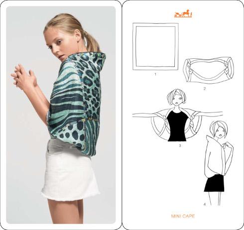 comment nouer foulard 64