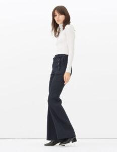 pantalon pont sandro