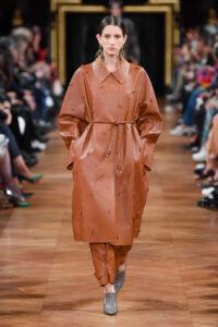 tendances de mode trench cuir