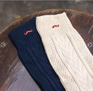 cadeaux éco-responsables chaussettes montagne homme