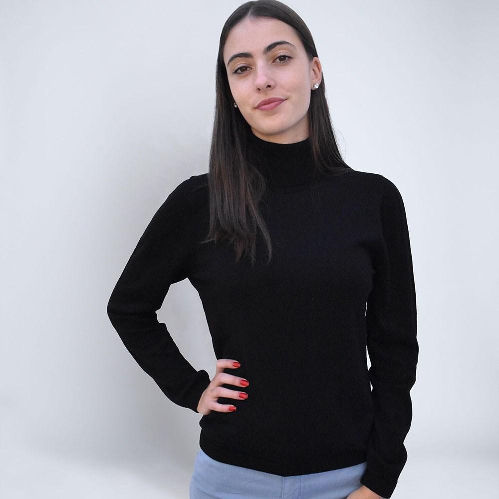 comment s'habiller éthique col roulé noir laine