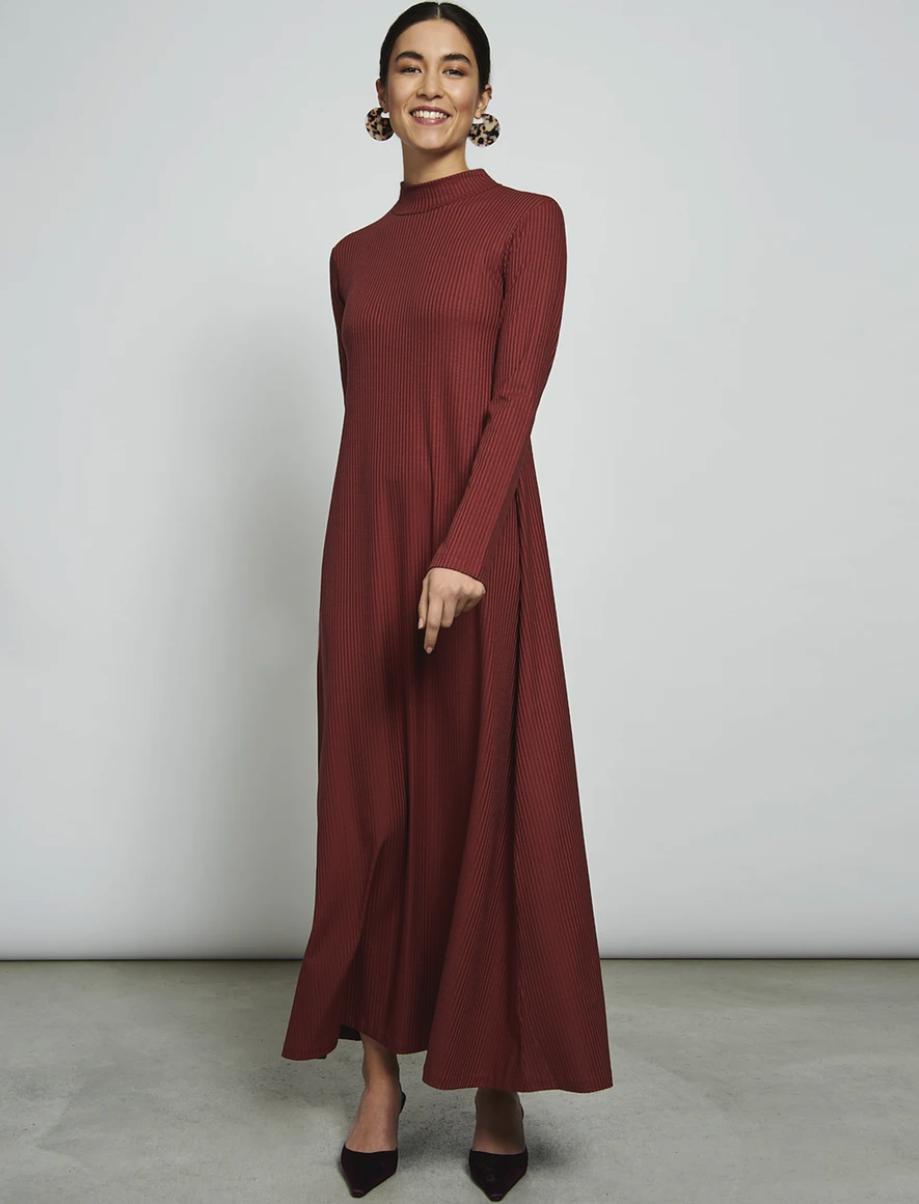comment s'habiller éthique robe longue