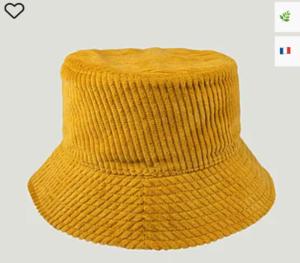 bob velours jaune