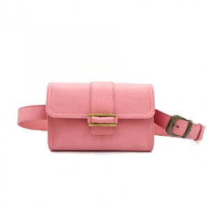 pochette ceinture rose